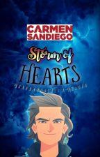 Storm of Hearts: Graham Crackle x Reader: Carmen Sandiego 2019 by Goldenfoxx