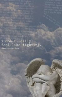 i don't really feel like fighting. cover