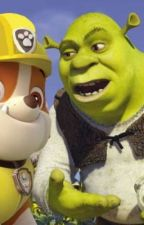 Shrek x Rubble by wafflecountry