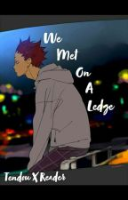 We Met On A Ledge | Satori Tendou X Fem Reader | Haikyuu! by tendousmyparadise