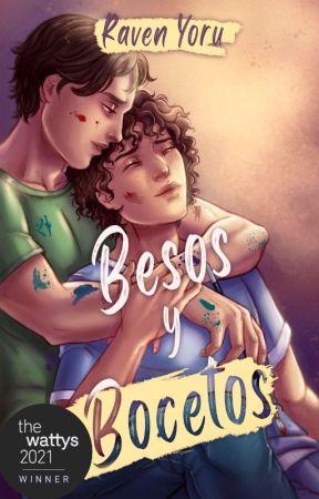 Besos y bocetos by RavenYoru