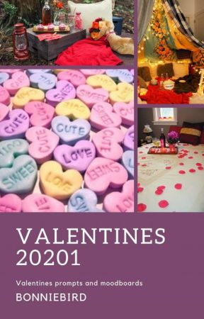 Valentine 2021 {Multi-fandom prompts and moodboards} by bonniebird
