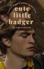 cute little badger | cedric diggory by 44gummybear44