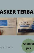 """HARGA TERJANGKAU, CALL 0813-3213-0683, SUGICAL MASK """"UTAMA"""" by pakaimasker89"""