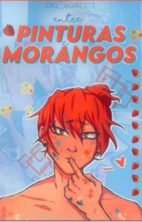 Entre pinturas e morangos.(Kiribaku) by DKL_Agreste