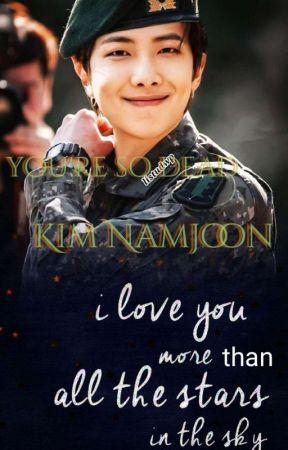 You're  dead  kim Namjun by Linda__Teronpi