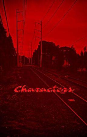𝐭𝐡𝐢𝐬 𝐢𝐬 𝐧𝐨𝐭 𝐚 𝐝𝐫𝐞𝐚𝐦 - characters by areyouinsane-likeme