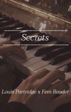 secrets | louis partridge x fem reader  by kpara27