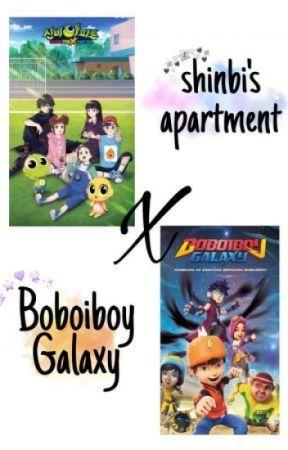 Boboiboy Galaxy Vs Shinbi's House by RickyHarunM