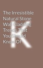 The Irresistible Natural Stone Wall Cladding Trends That You Should Know Of by stonexperts