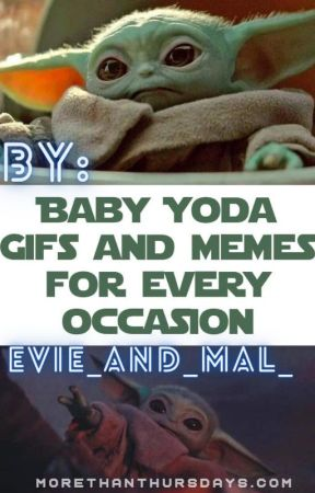 Baby yoda by Evie_and_Mal_