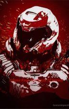 The Demon Hunter: Doom Slayer by crazy-Deku