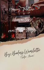 """""""harry potter characters react to ships"""" by Hinnyluver"""