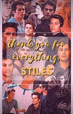 thank you for everything, Stiles by elfeth
