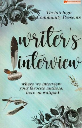 Writer's interview (3rd book) by ThetaTelugu