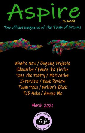 Aspire Magazine - March 2021 - Team of Dreams by TeamOfDreams