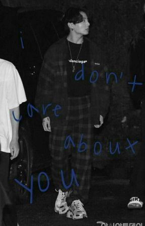 i don't care about you | taekook by yutaboi