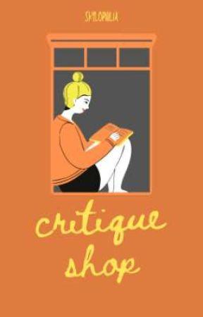 critique shop | open by skylophilia