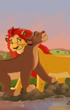 King Kion and Queen Rani by thelionguard220
