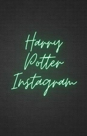 Harry Potter Instagram by destinedtobegay