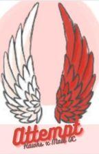 Attempt (Hawks x Male OC) by silverowlbells