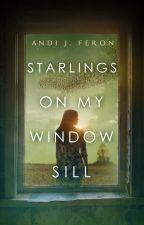 Starlings On My Windowsill by AndiJ37