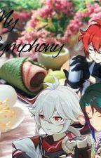 My Symphony [ᵍᵉⁿˢʰⁱⁿ ⁱᵐᵖᵃᶜᵗ × ᶠᵉᵐ!ʳᵉᵃᵈᵉʳ] by Anime_Fan589
