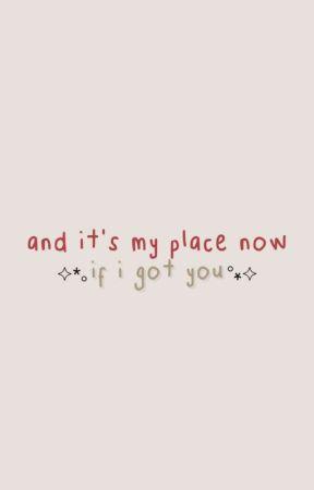 and it's my place now if i got you. lwt+hes by electrahazz