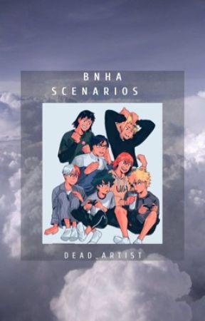 BNHA  SCENARIOS  by dead_artist