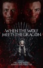 When The Wolf Meets The Dragon by drxc_arys