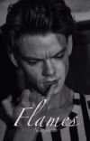 Flames  // Newt x Reader \\ cover