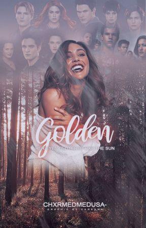 GOLDEN ◇ TWILIGHT SAGA by chxrmedmedusa-