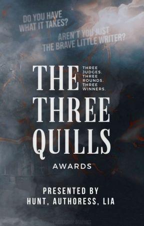 The Three Quills | Open by authoressperfekt