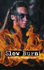 Slow Burn ( Lexa x You )  by comegetheda