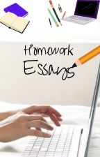 RaNdOm HOMEWORK ESSAYS!!!  (((feel free to steal these:)) by kitty_meow4ever