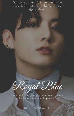 「ROYAL BLUE ¦¦ الأزرق الملكي」 by ttaehyung_sii