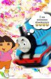 Dora x Thomas the Train smut cover