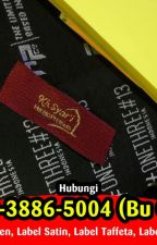TERPERCAYA 0878-3886-5004 (Bu Okvi) Label Untuk Baju by labelbajudibandung