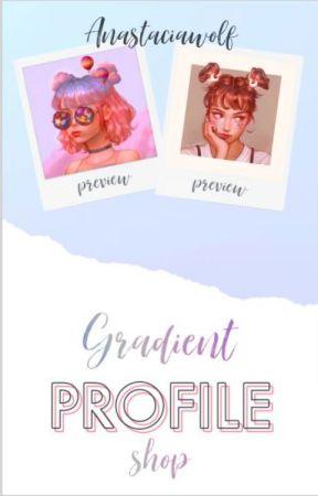 Gradient profile shop by Anastaciawolf