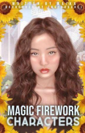 Magic Firework ✨🔥 Characters by -Maika-