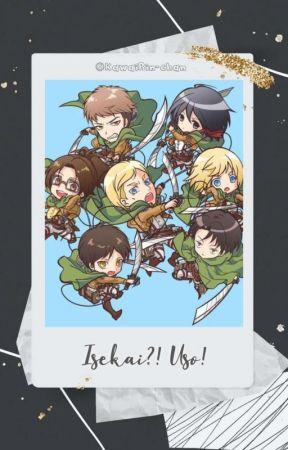 °⋆ ɪsᴇᴋᴀɪ?! ᴜsᴏ! (sɴᴋ)❄️° by KawaiRin-chan