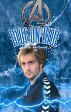 Blue on Blue - pietro maximoff  by darthart00