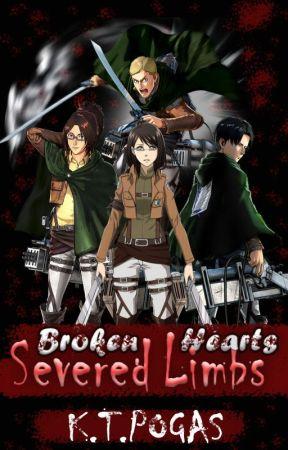 Broken Hearts, Severed Limbs (Levi x OC x Erwin) by koulakoukoula