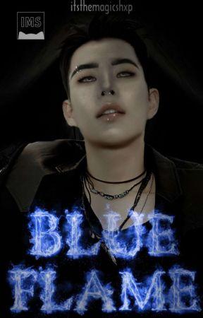 𐚁彡 blue flame ━ 蓝色火焰 by itsthemagicshxp