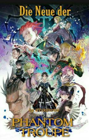 Die neue der Phantom troupe  by Yuki-Portor