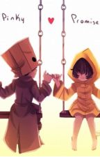 Mono + Six Afterstory || Little Nightmares II by usagi-starz