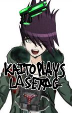 Playing Laser Tag with the Boys [DanganRonpa V3] by DRAMATICAL_beel