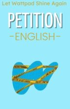 PETITION | English by LetWPShineAgain