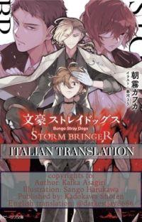 STORM BRINGER - ITALIANO  cover