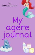 My agere journal/diary by little_clown_honks
